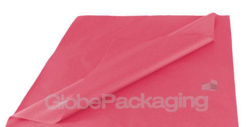 50 fogli di colore rosso ciliegia rosa senza ACIDI CARTA VELINA 375 mm x 500 mm Qualità *