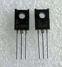 5 Pair 2SA1360-Y & 2SC3423-Y A1360 C3423 Toshiba Audio Transistors New