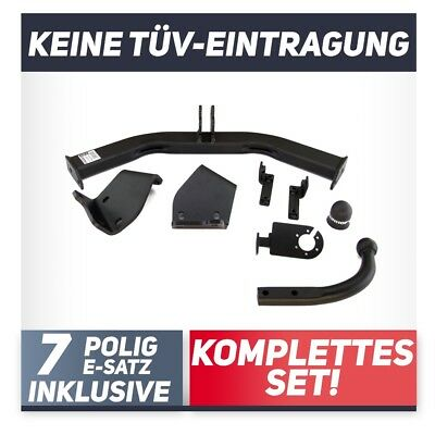 Anhängerkupplung abnehmbar E-Satz 13pol AHK /& ES 500 Fliessheck 312 Auto Hak