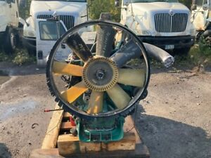 1999 Volvo VED12B Diesel Engine. 345HP. All Complete and Run Tested.