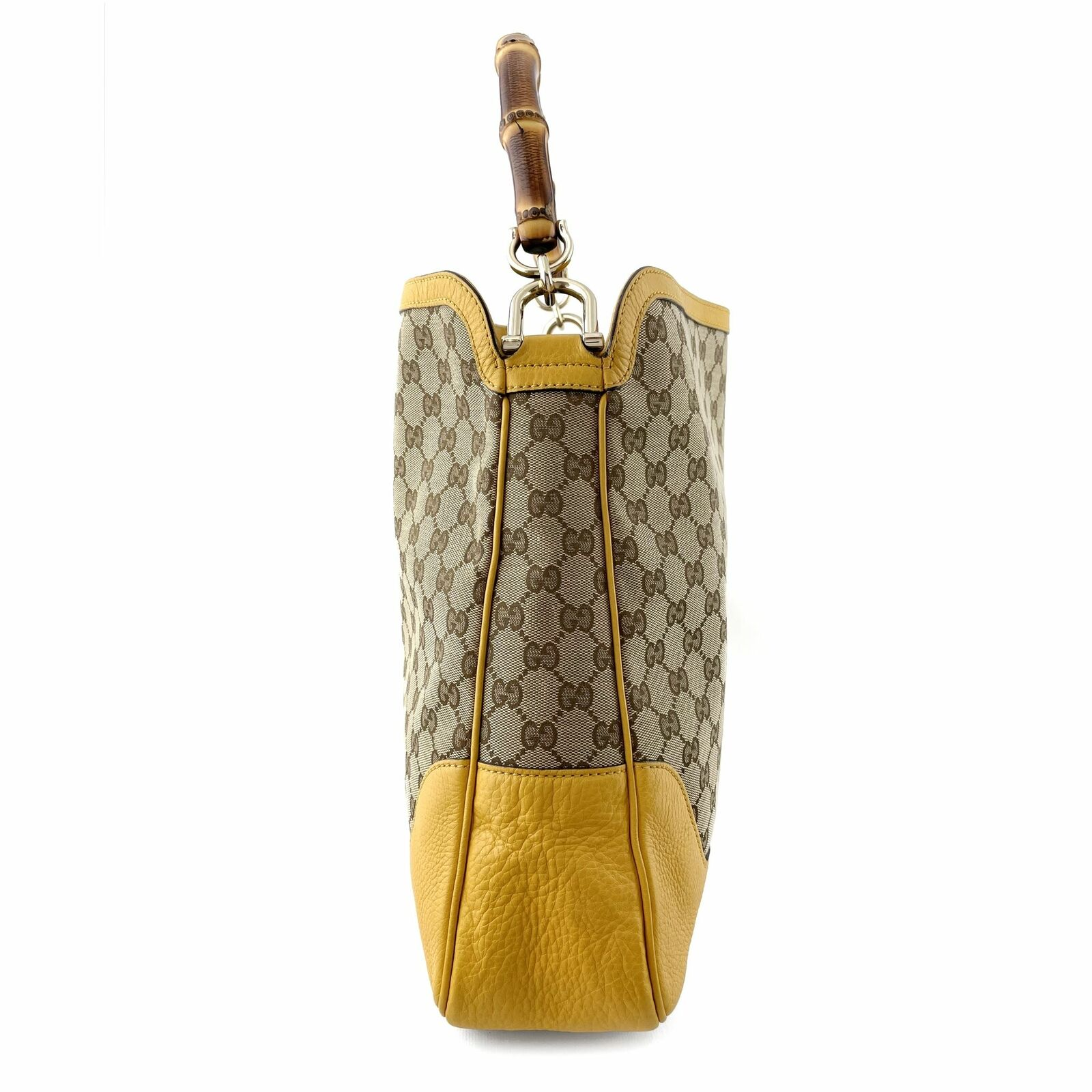 Gucci GG Canvas Diana Bamboo Shoulder Bag - Beige… - image 4