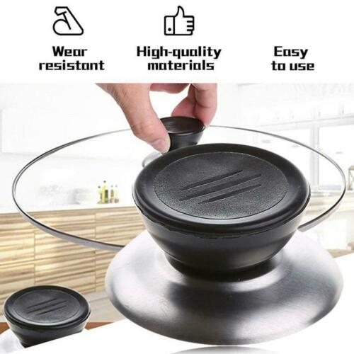5 PC Replacement Knob Handle Glass Lid Pot Pan Cover Cookware Kitchen  Grip Knob