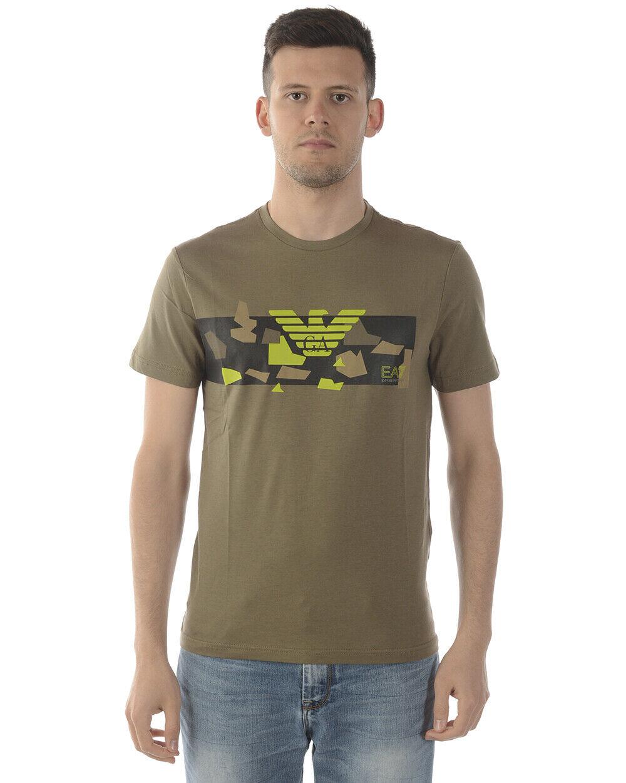 Emporio Armani Ea7 T hemd schweißhemd Man Grün 3GPT09 PJT7Z 1851 SzM MAKE OFFER
