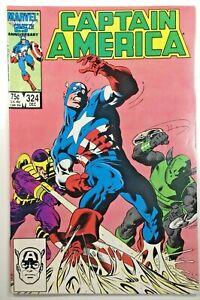 Captain-America-Vol-1-324-Comic-Book-1986-Marvel-Avengers-Whirlwind-Slug-Trap