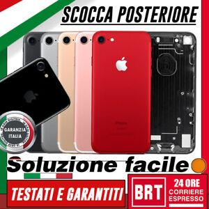 SCOCCA-POSTERIORE-SLOT-E-PULSANTI-per-Apple-iPhone-7-TELAIO-BACK-COVER-HOUSING