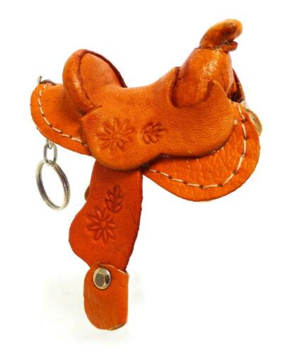Rodeo Ready Schlüsselanhänger aus Leder versch Sorten Schluesselring Keychain