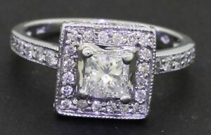 14K-white-gold-1-14CT-Princess-diamond-wedding-engagement-ring-w-50CT-ctr