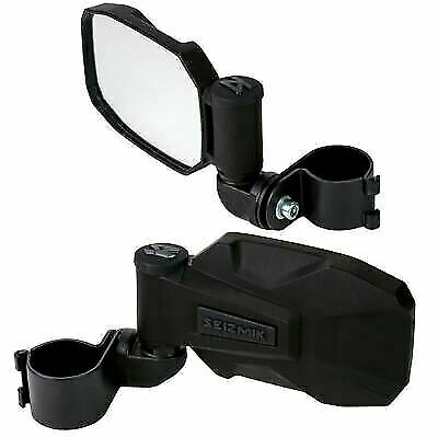 "Seizmik UTV Strike 1.875-2.0/"" Roll Cage Mounted Side View Mirrors Pair TERYX 4"