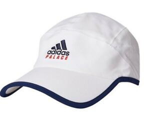 4f74c8e14a711 ADIDAS X PALACE ON COURT WHITE HAT CAP BRAND NEW SEALED IN BAG SS18 ...