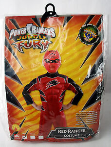 Power rangers jungle fury costume mask red ranger rubies small image is loading power rangers jungle fury costume amp mask red voltagebd Image collections