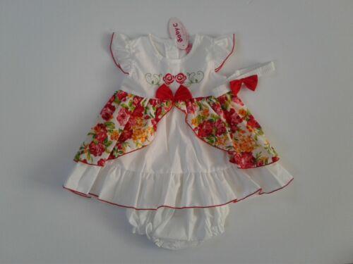 Ropa de Bebé Niñas Vestido Vestido de pantalones Diadema Rosa 6-23 meses