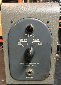 Boomerang Monitor built by Radio MFG Engineers MB-3