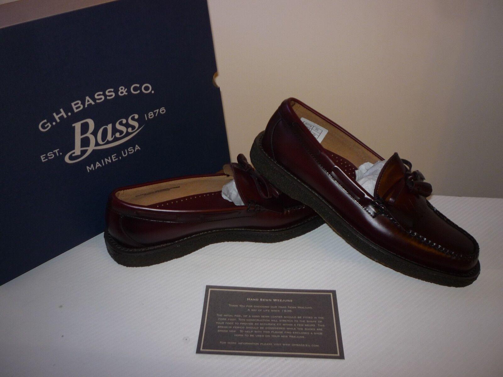 Bass Shoes Weejuns Layton Kiltie Leather Shoes Bass Size 9 UK/43 EUR 96b209