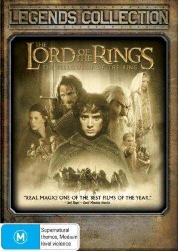 1 of 1 - The Lord Of The Rings - The Fellowship Of The Ring (DVD, 2008, 2-Disc Set)