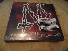 *NEW SEALED* NAPALM DEATH : THE CODE IS RED ...LONG LIVE THE CODE DIGIPAK CD