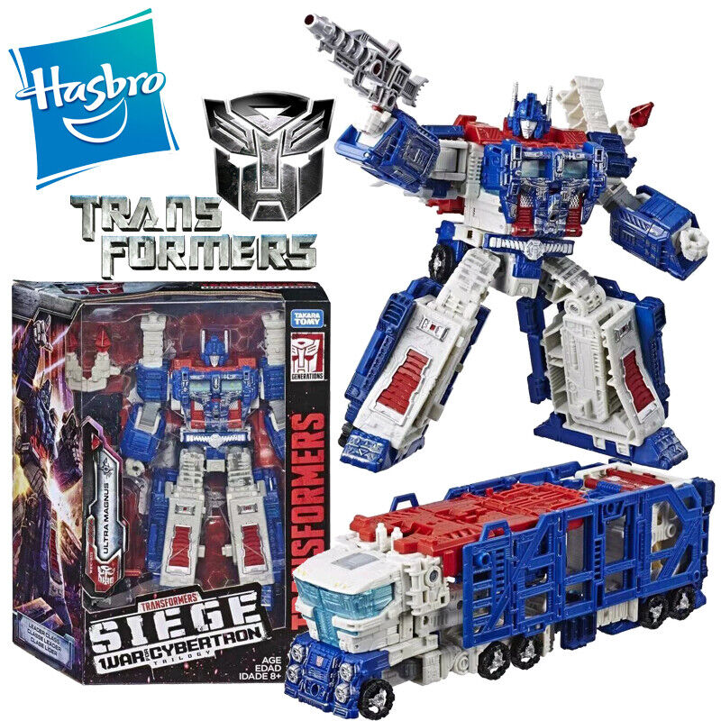 Hasbro Transformers Ultra Magnus SIEGE War for Cybertron Trilogy Leader Class