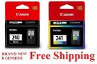 *GENUINE* Canon PG Black 240 CL 241 Color Ink Cartridges MG3520 3620 MX459