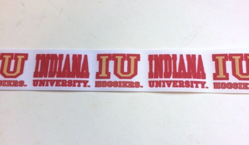 "Indiana University Grosgrain Ribbon 10 Yds 1 1//2/"" Wide"