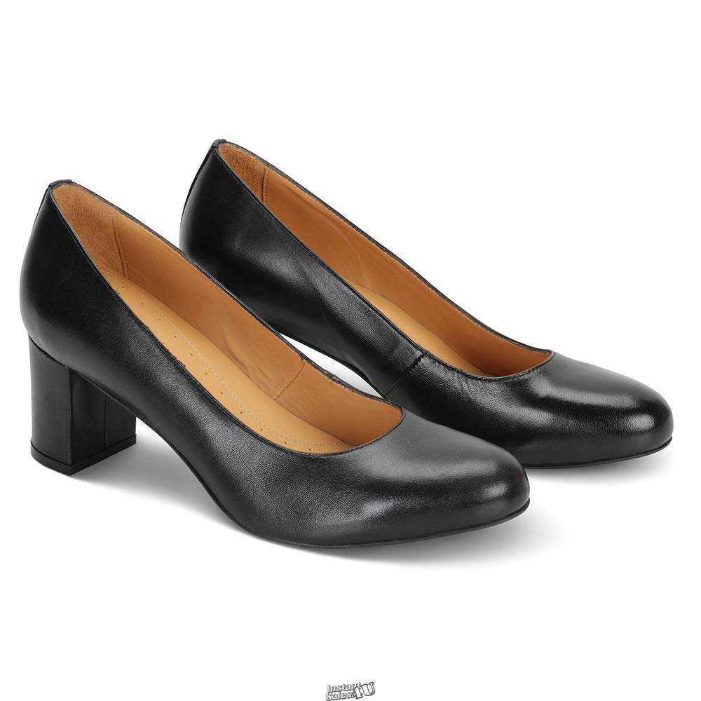 El vuelo de la operadora's Comodidad Zapatos para mujer 7 Negro Gel Amortiguador