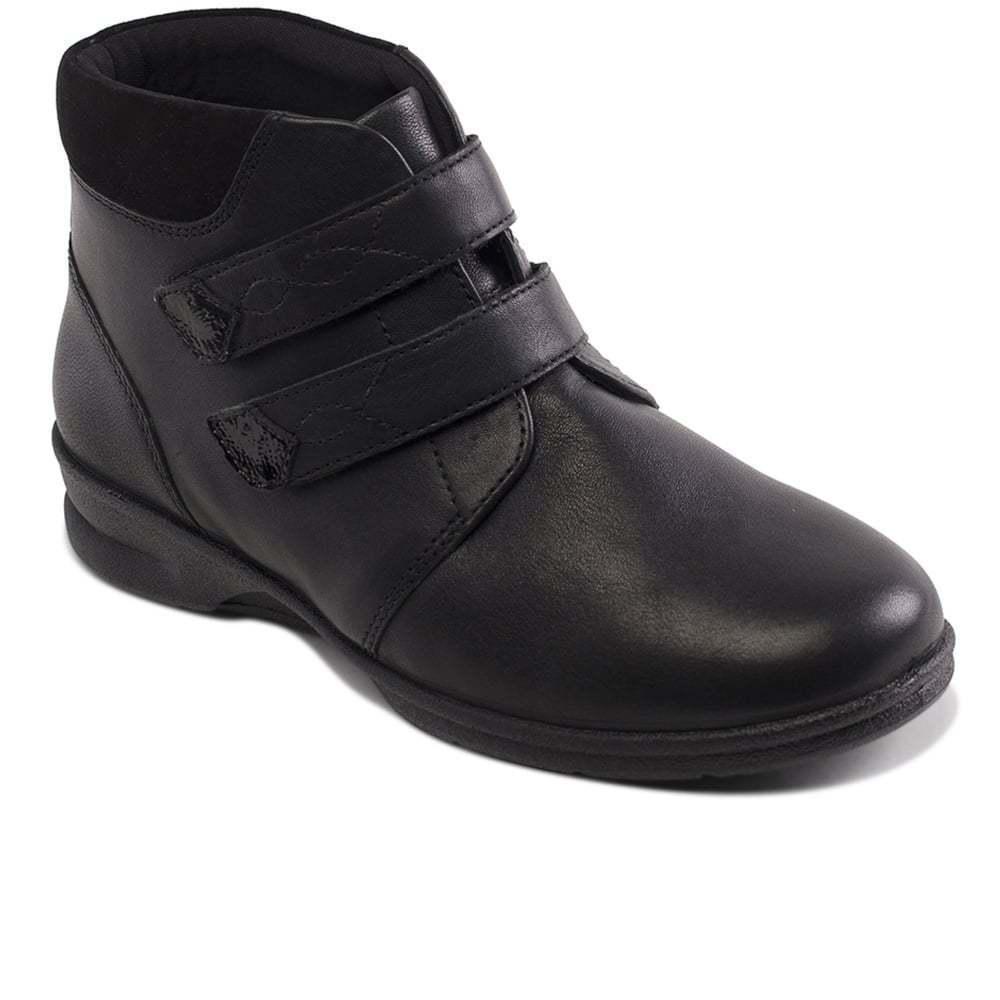 di moda Padders Kathy 4 6E 6E 6E ampia vestibilità stivaletti neri in pelle con soletta rimovibile  scelta migliore