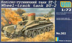 1935 BT-7 WWII Soviet light tank 1//72 UM  # 310