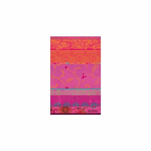 70g//m² kariert Herlitz Kladde DIN A7 Notizbuch 144 Blatt