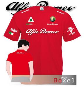 TSHIRT-ALFA-ROMEO-CUORE-SPORTIVO-3-ALFISSIMO-BISCIONE-FIAT-LANCIA-RALLY