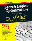 Search Engine Optimization All-in-One For Dummies by Bruce Clay (Paperback, 2015)