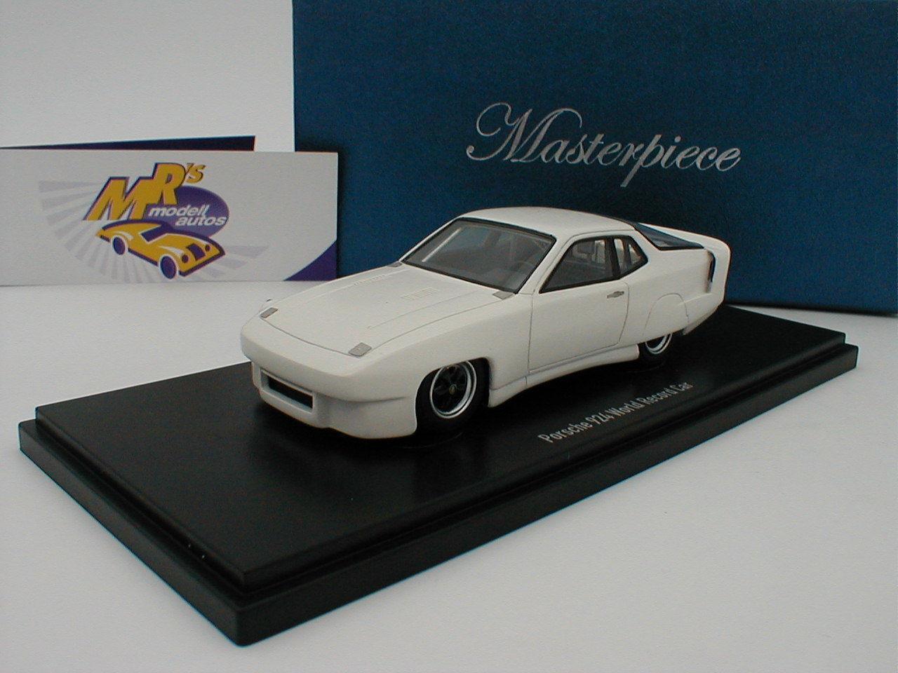 Autocult Masterpiece 90072-Porsche 924 World Record Car Predotye in White 1 43