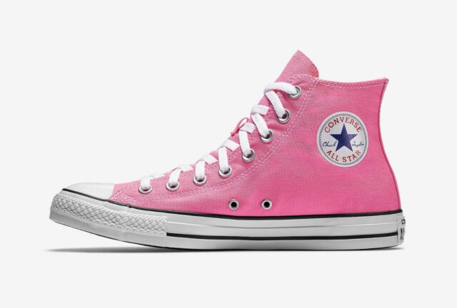 24ea87fa8890 Converse Chuck Taylor All Star High Top Canvas Men Shoes M9006 - Pink White