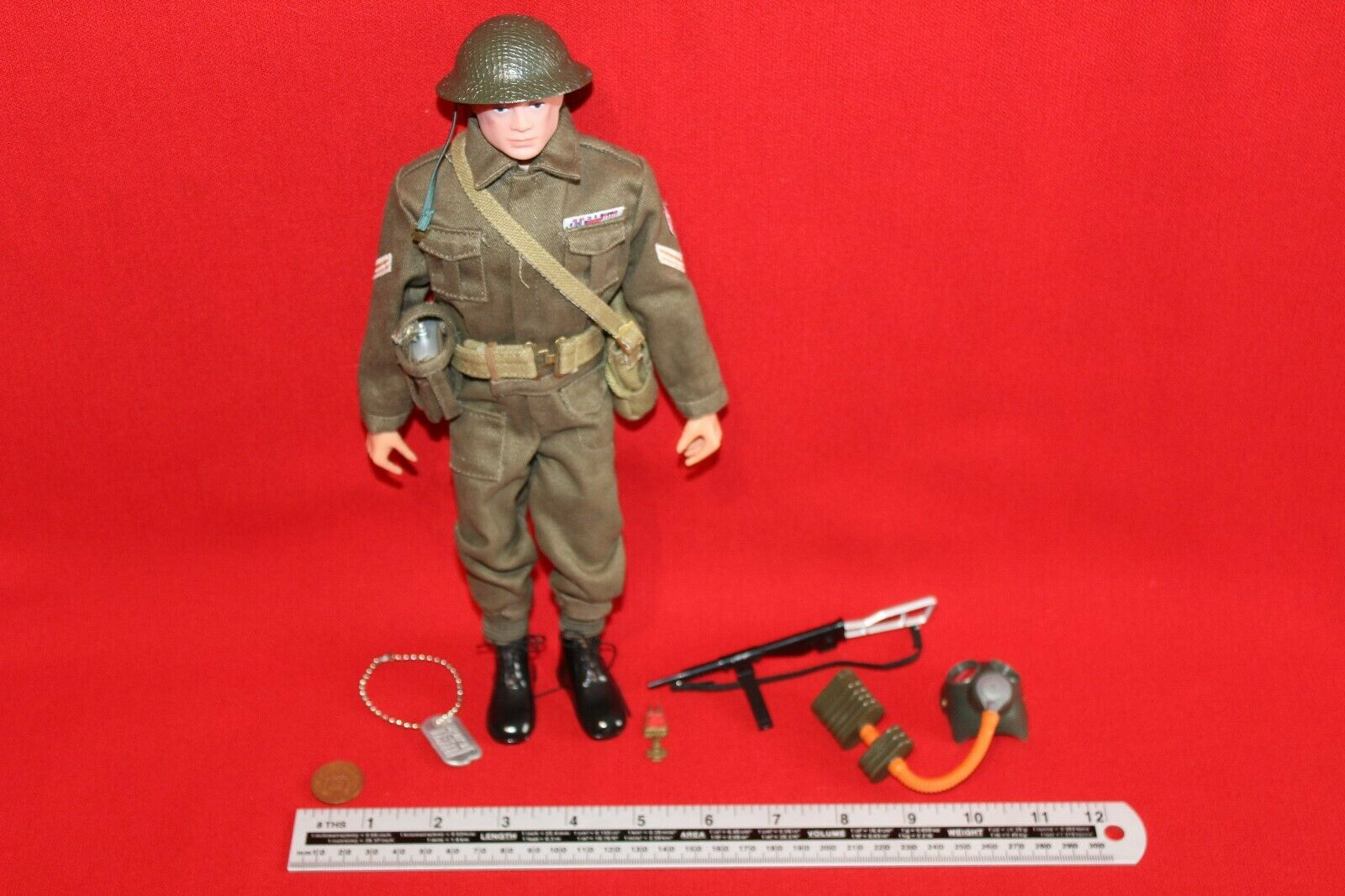 Action MAN 40th Britannico Soldato CB34760
