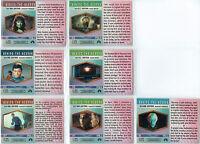 STAR TREK ORIGINAL SERIES 1 BEHIND THE SCENES CARD SINGLES
