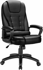 Leather Executive Office Chairhigh Back Big Tall 400lb Managerial Chairs
