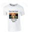 or Text Custom Personalised T-Shirt Printed With Your Own Photo and
