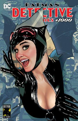Batman Detective Comics 1000 DC Adam Hughes Catwoman Trade Variant