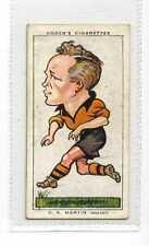 (Jz245-100) Ogdens,Football Caricatures,D.K.Martin,1935 #28