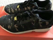 new concept b05bf 87940 Adidas Torsion ZX Flux Mens Size 12 Slightly Used Color-Camouflage