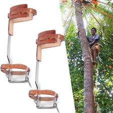 New Listingclimbing Tree Spikes Stainless Steel Claws Tree Gaffs Spur Gear Climbing Steps
