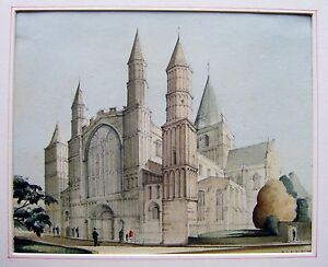 ROCHESTER-THE-CATHEDRAL-W-COL-PETER-CLEGG-1949