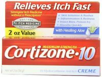 4 Pack - Cortizone-10 Maximum Strength Anti-itch Creme With Aloe 2 Oz Each on Sale