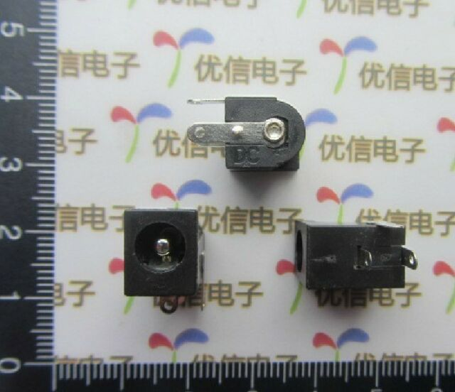 DZ328 10PCS 5.5X2.5MM Electrical socket outlet DC-005 DC outlet