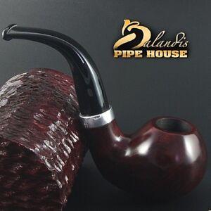"Exclusive BALANDIS ORIGINAL Briar Wood Handmade SMOKING PIPE ""FROGGIE 99"" Rubin"