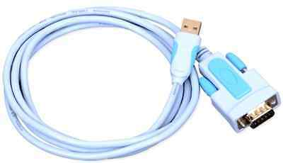 Vention 3FT USB 2.0 To RS232 Serial 9-Pin Converter RS-232 Cable Adapter