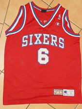 Filadelfia 76ers Julius Erving NBA Basketball camiseta l Champion Jersey dr. J