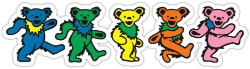 Grateful Dead Dancing Bears Vinyl Sticker Decal Car Truck Laptop Window Sizes