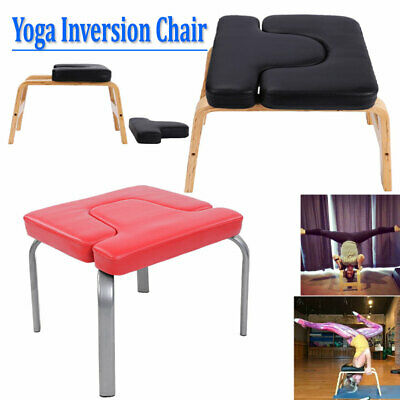 yoga headstand inversion bench chair fitness training home