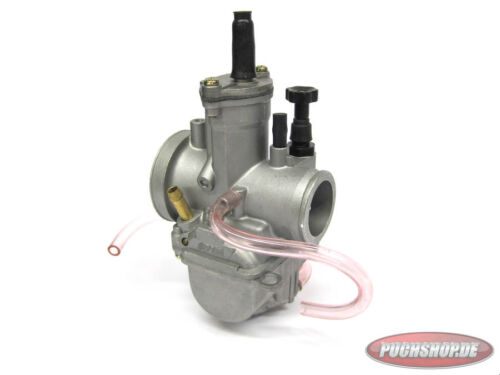 Polini PWK 24mm Vergaser Puch Maxi Mofa Moped Carburetor Tuning Race Cross