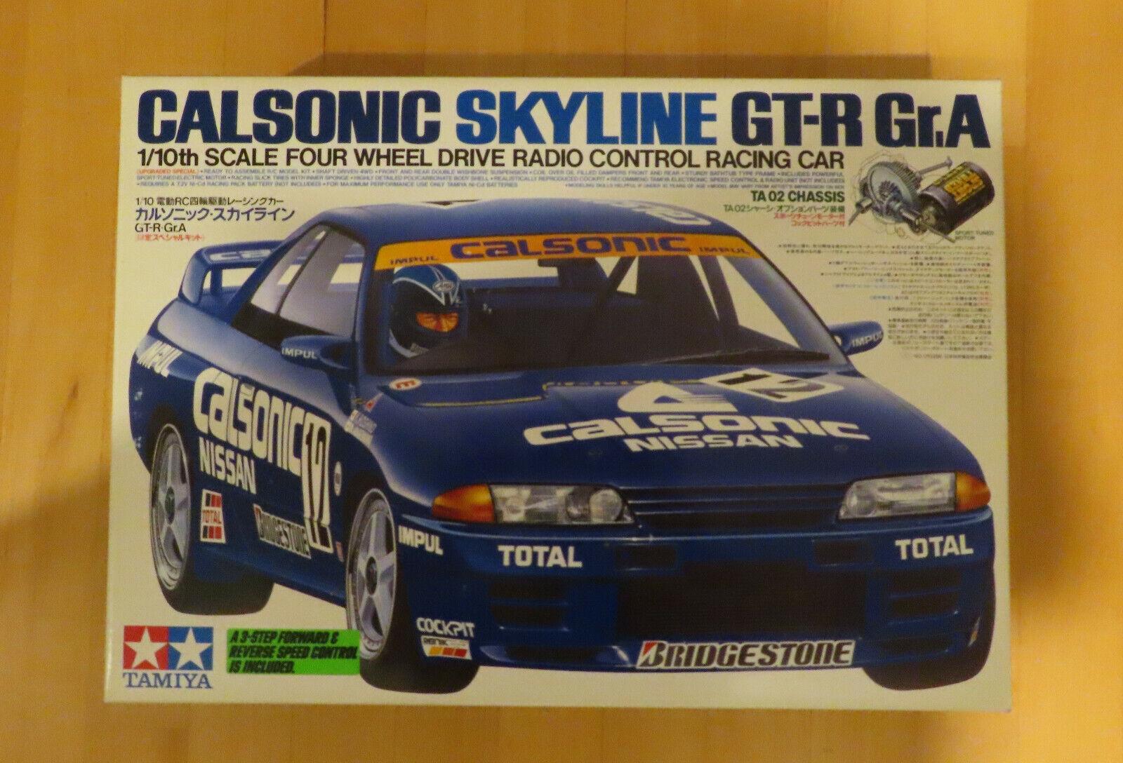 RC Tamiya KIT NISSAN Calsonic Skyline GT-R 58135 New NIB 1994