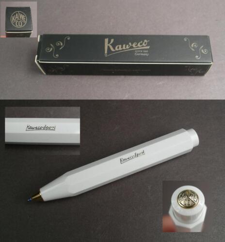 Kaweco Classic Sport Kugelschreiber in weiß neu #