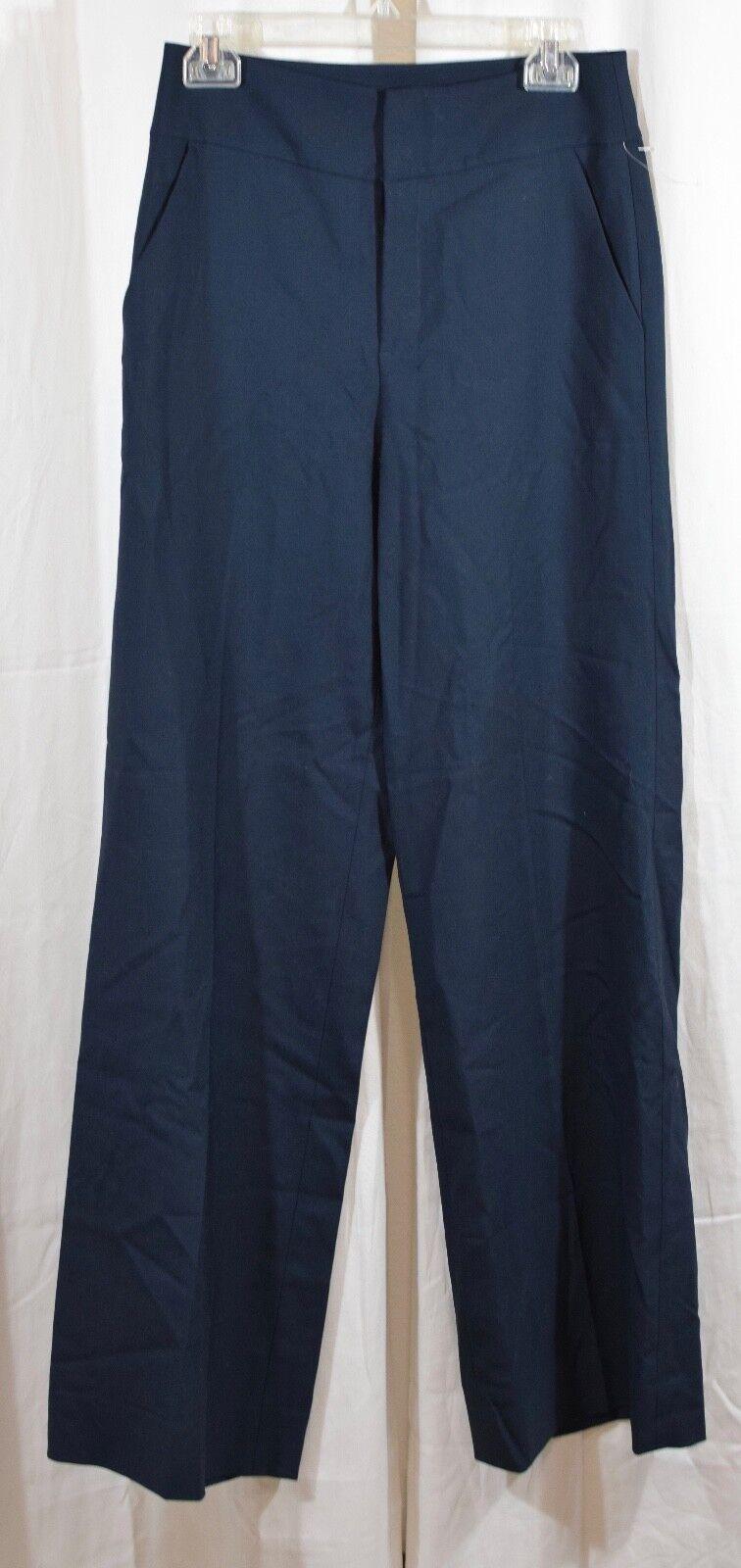 FRAME True Tux Wool Pants in Navy Size 6